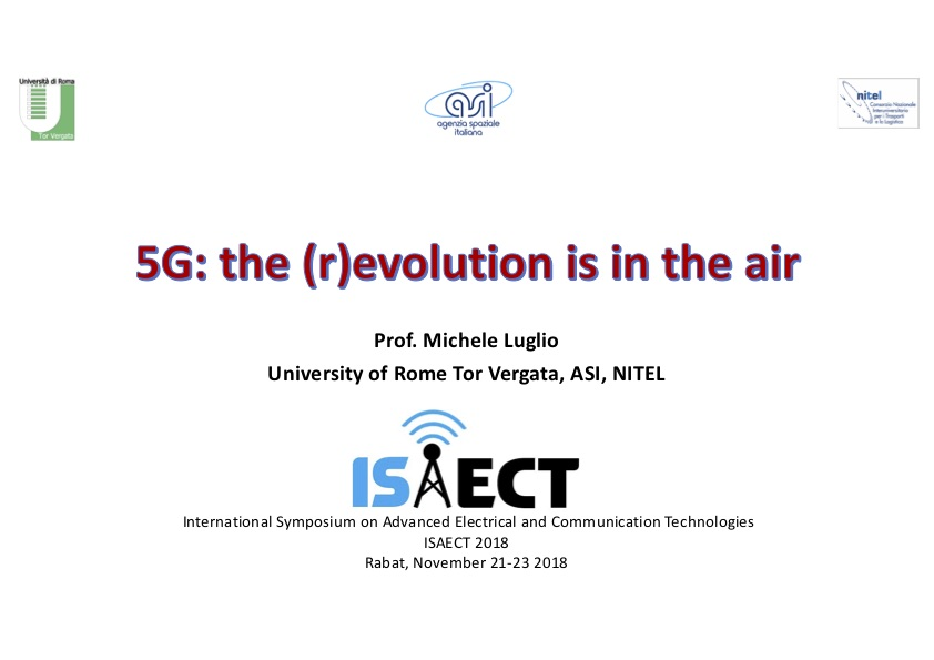 5G: the (r)evolution is in the air